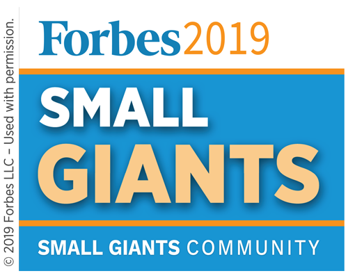 Forbes Small Giant Badge