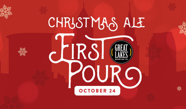 Great Lakes Christmas Ale Tapping 2020 2019 Christmas Ale First Pour | Great Lakes Brewing Company