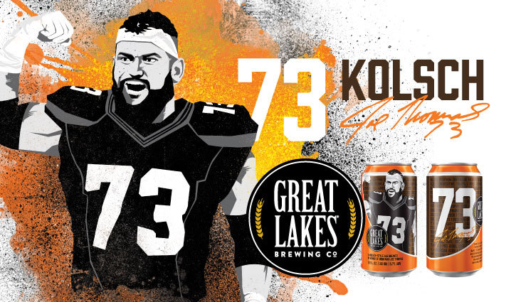 buy popular 9dea0 ba77d 73 Kolsch Celebration with Joe Thomas | Great Lakes Brewing ...