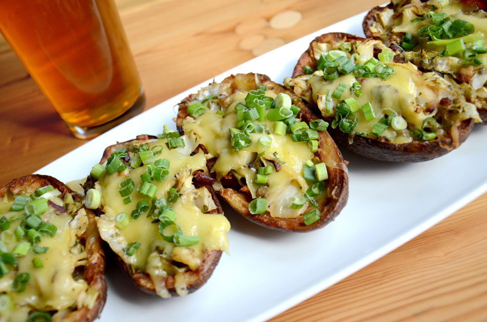 Commodore Perry IPA Braised Potato Skins