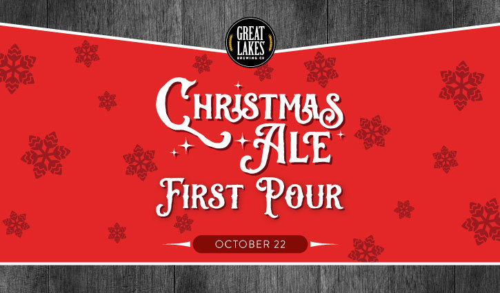 Christmas Ale First Pour 2020 | Great Lakes Brewing Company