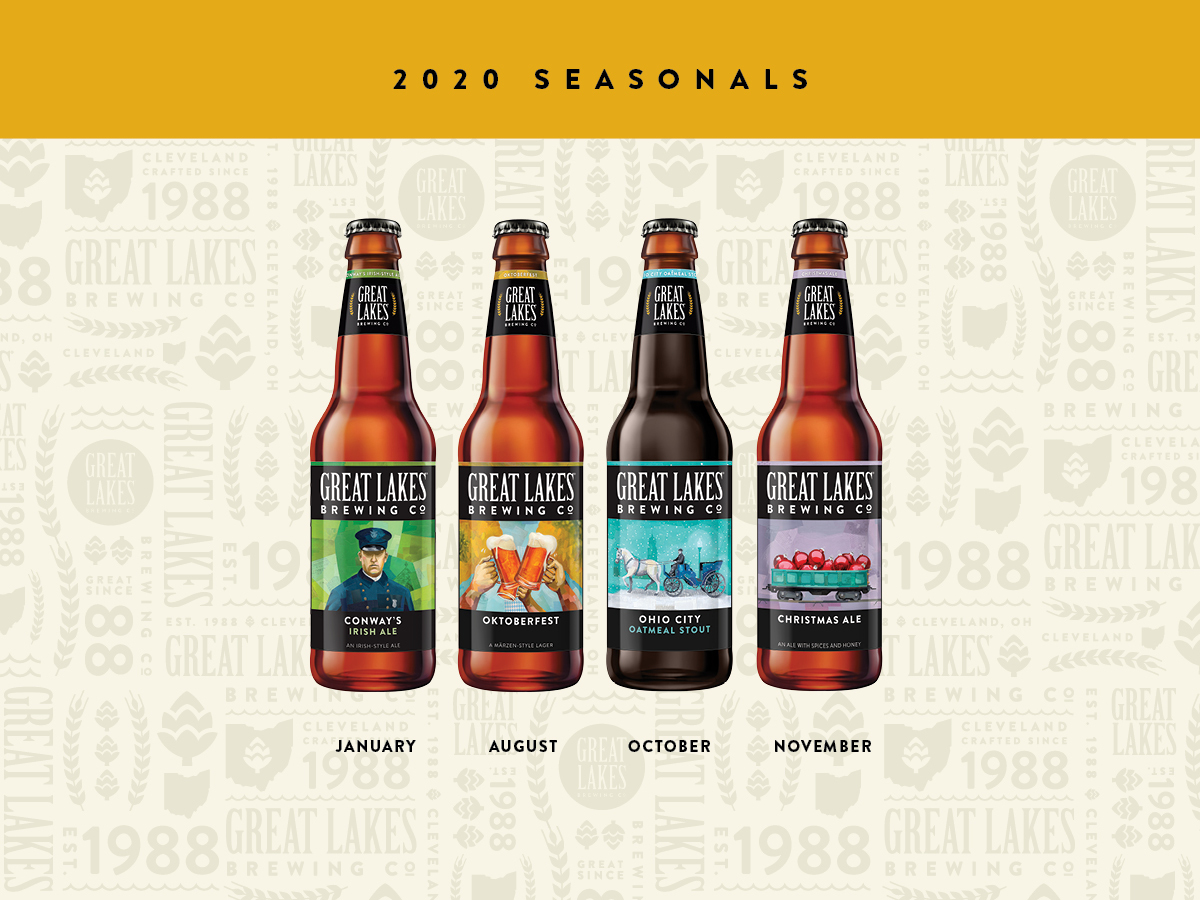 Great Lakes Christmas Ale 2020 The GLBC 2020 Beer Lineup is Here!   Great Lakes Brewing Company